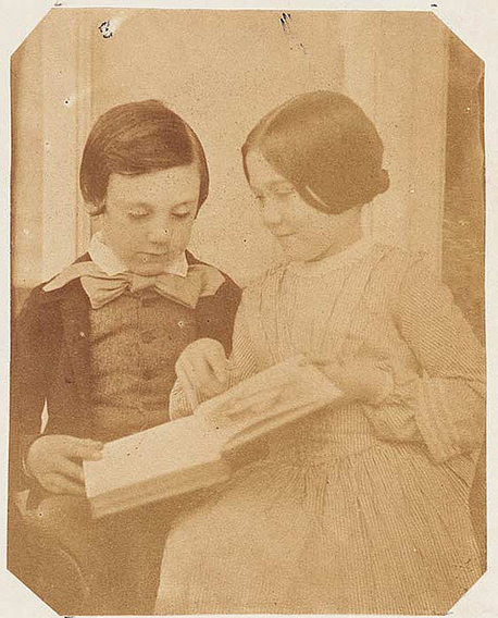 children-reading-CC-LIGC-NLW